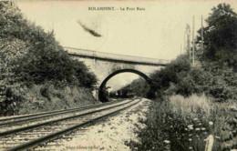 52 .ROLAMPONT.Le Pont Biais .TRAIN - France
