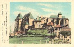 Lot De 6 Cpa -Les Chateaux Du Périgord - Cartes Postales