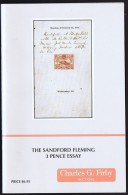 The Sandford Flemming 3 Pence Essay  ( For Canada's First Stamp) - Philatélie Et Histoire Postale