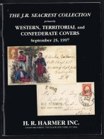 USA The J.R. Seacrest Collection Western, Territorial And Confederate Covers  Harmer  1997 - Catalogues De Maisons De Vente