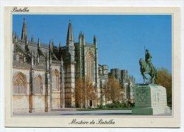 PORTUGAL - AK198105 Batalha - Monastery And D. Numo Alvares Pereira Equestrian Statue - Portugal