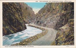 The Narrows Big Thompson Canon Estes Park Rocky Mountain Nationa