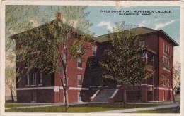 Girls Dormitory Mcpherson College Mcpherson Kansas