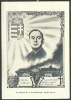 HUNGARY - 1946-56 Hungary/Australia Postcard. Blank Reverse - Tarjetas – Máximo