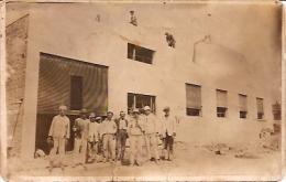 POSTCARD- POSTAL- TRABAJADORES DE LA CONSTRUCCIÓN. BRICKLAYER-STONEMASON. NO CIRCULADA. CIRCA 1920. GECKO. - Industrie