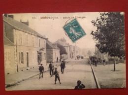 03 Allier MONTLUCON Route De Limoges 90 - Montlucon
