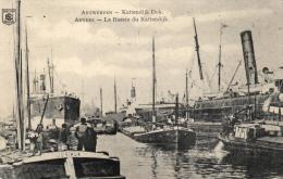BELGIQUE - ANVERS - ANTWERPEN - Le Bassin Du Kattendijk - Kattendijk Dok. - Antwerpen