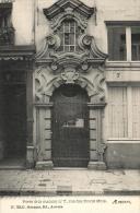 BELGIQUE - ANVERS - ANTWERPEN - Porte De La Maison N°7, Rue Des Douze Mois. - Antwerpen