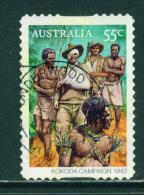 AUSTRALIA  -  2010  Kokoda Campaign  55c  Self Adhesive  Used As Scan - 2010-... Elizabeth II