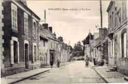 MORANNES - La Poste (66853) - Sonstige Gemeinden