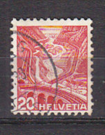 PGL BY173 - SUISSE SWITZERLAND Yv N°293a Gaufrè - Used Stamps