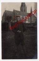 Non Situee-St NICK---EGLISE-Carte Photo Allemande-Guerre 14-18-1WK-BELGIQUE-BELGIEN-Flandern- - Non Classés