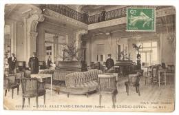 38 Allevard Les Bains. Splendid Hotel. Le Hall (9009) - Allevard