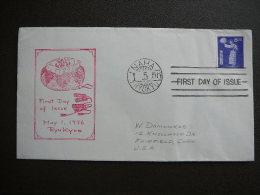 1956 Japan Ryukyu Cover  # FDC 46 - FDC
