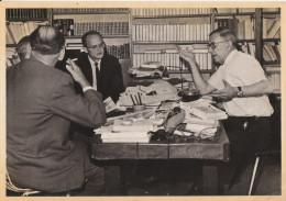 """Keystone : Jean Paul Sartre Interviewé Par 3 Journalistes Du Journal """"Der Spiegel"""" En 1968 - Illustrateurs & Photographes"""