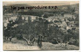 - Barjols - Vue Générale, Côté Ouest, En  1916, Jeune Fille, Oliviers, écrite, Timbre, TBE, Scans, N°12.. - Barjols