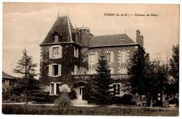 41 CHAON Le Chateau De Chery Cpa Loir Et Cher - France