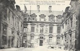 Paris (4e) - Hôtel De Sully - 62 Rue St-Antoine - Carte Non Circulée - Arrondissement: 04