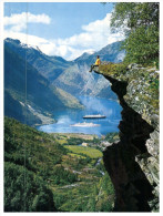 (DD 432) Norway - Geiranger And Cruise Ships - Norway