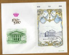Enveloppe FDC 150 Anniversaire De L´indépendance De La Belgique Bloc 55 Ciney - 1971-80