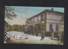Lithuania PPC Virbalis 1913 Border Customs House - Lithuania