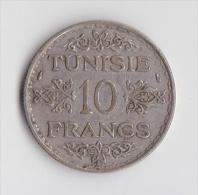 10 FRANCS TUNISIE 1935 - Túnez