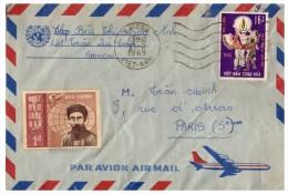 Lettre 1969 VIET NAM SAIGON Pour La FRANCE /4406 - Vietnam