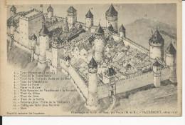 Vaudémont    Avant 1636   Chateau - Francia