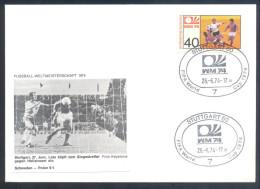 Football Soccer FIFA World Cup Germany Cover 1974 Campeonato Mundial De Futbol - Match Sweden - Poland 0:1 Lato - Coppa Del Mondo