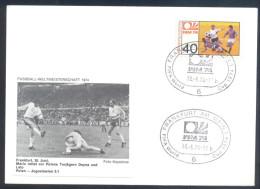 Football Soccer FIFA World Cup Germany Cover 1974 Campeonato Mundial De Futbol - Match Poland - Yugoslavia 2:1 - Coppa Del Mondo