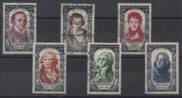 FRANCE - 1950 - YT N° 867 à 872 - Cote 90,00 € - Oblitérés