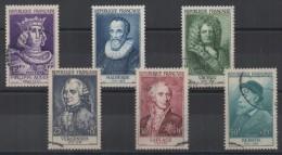 FRANCE - 1955 - YT N° 1027 à 1032 - Cote 150,00 € - Oblitérés