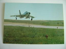 AERONAUTICA MILITARE ITALIANA  REPUBLIC RF 84 F THUNDERSTREAK   NON VIAGGIATA   PERFETTA  AEREO AIRPLANE - 1946-....: Moderne