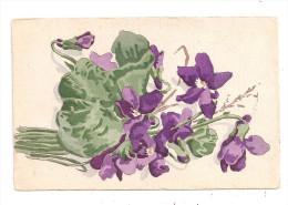 Carte Peinte-Fleur.--(A .436) - Other