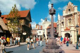 UK World Showcase, Epcot Center, Disneyworld, Florida USA Postcard Used Posted To UK 1988 Stamp - Disneyworld