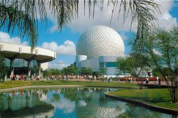 Communicore, Future World, Epcot Center, Disneyworld, Florida USA Postcard Used Posted To UK 1997 Stamp - Disneyworld