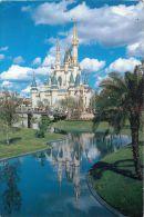 Cinderella Castle, Disneyworld, Florida USA Postcard Used Posted To UK 2006 Stamp - Disneyworld