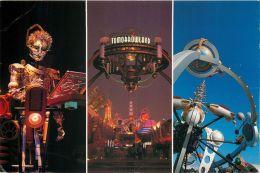 Tomorrowland, Disneyworld, Florida USA Postcard Used Posted To UK 2001 Stamp - Disneyworld