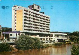 Hotel Dacia, Oradea, Romania Postcard Used Posted To UK 1992 Stamp - Romania