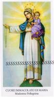 173 SS. Cuore Immacolato Di Maria Madonna Pellegrina Santini Santino EGIM Raro EDGMI ED G MI  ED GMI  Isonzo 173 - Religion & Esotericism