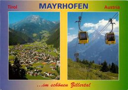 Mayrhofen, Tirol, Austria Postcard Used Posted To UK 2006 Stamp - Austria