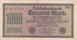 1 000 Mark - [ 3] 1918-1933 : Repubblica  Di Weimar