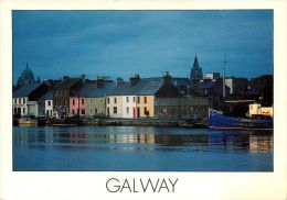 Galway Town, Co Galway, Ireland Postcard - Galway