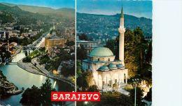 Sarajevo, Bosnia Postcard Used Posted To UK 1975 - Bosnia And Herzegovina