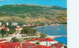 Ohrid, Macedonia Postcard Used Posted To UK 1972 Stamp - Macédoine