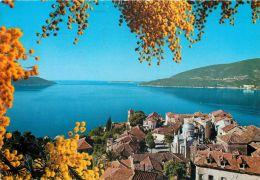 Herceg Novi, Montenegro Postcard Used Posted To UK 1986 Stamp - Montenegro