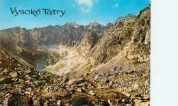 Vysoke Tatry, Slovakia Postcard Used Posted To UK 1974 - Slovakia
