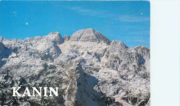 Kanin, Slovenia Postcard Used Posted To UK 1989 Stamp - Slovenia