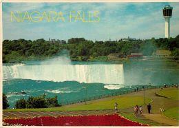 Niagara Falls, New York City NYC, United States USA US Postcard Used Posted To UK 1991 Stamp - NY - New York