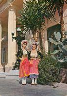 National Costumes, Corfu, Greece Postcard Used Posted To UK 1980 Nice Stamp - Grecia